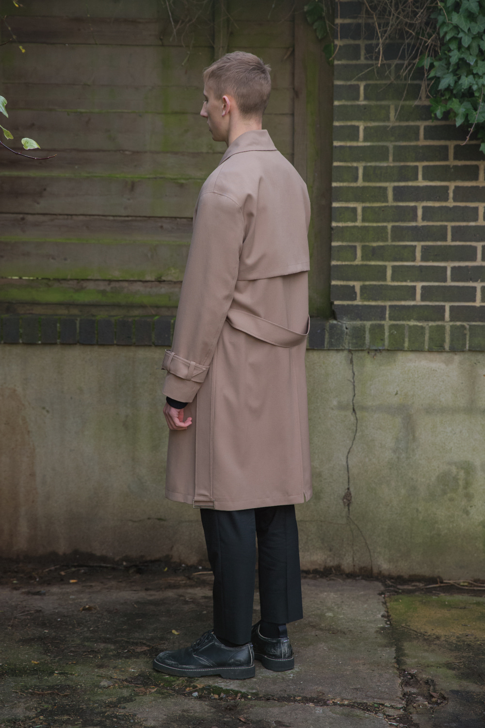 벨리에(BELIER) Wool Tailored Trench Coat / Beige