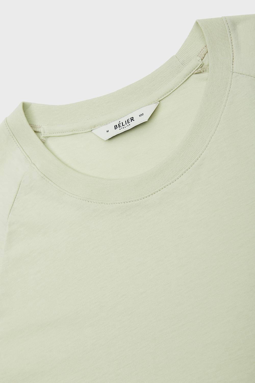 벨리에(BELIER) Semi-Long Sleeve T-Shirt - Mint